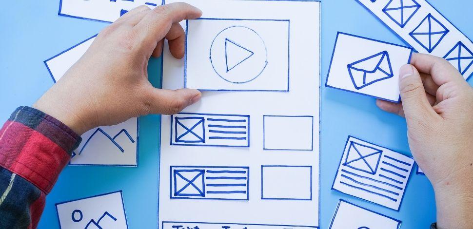 projektowanie makiety strony www
