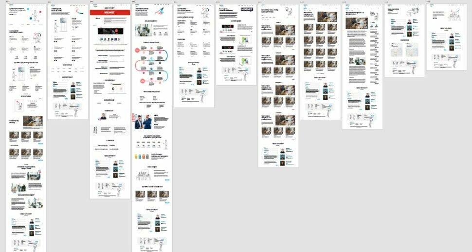 layout w programie graficznym