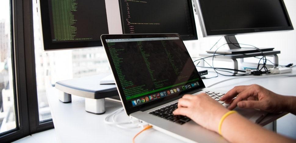 Programmer during development